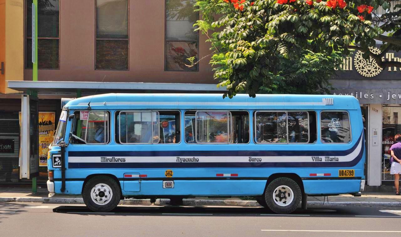 Resultado de imagen para bus villa maria del triunfo miraflores