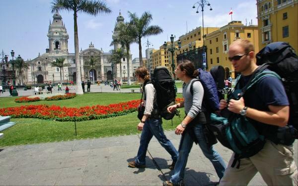 Turistas Lima