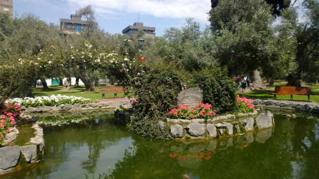 Parque El Olivar San Isidro Lima