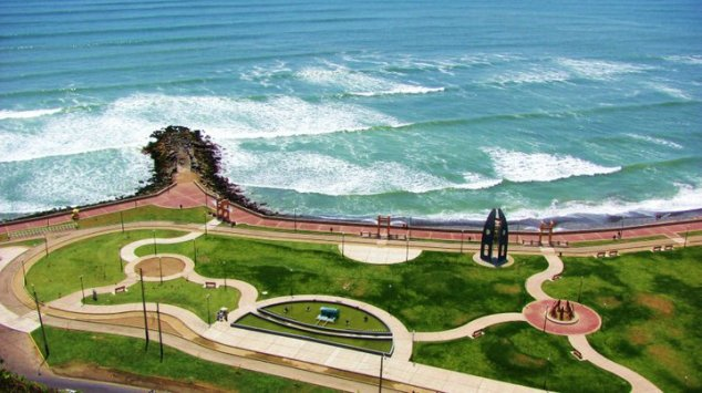 Parque Tres Picos Miraflores Lima